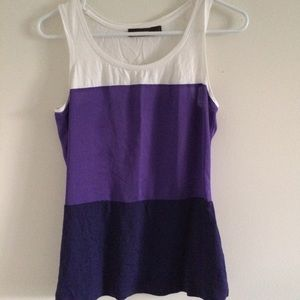 The Limited Purple Tank Top